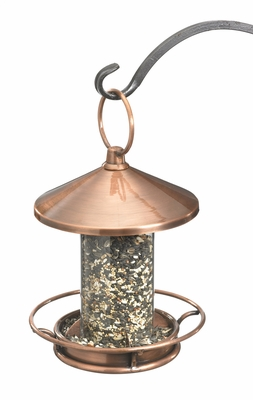 Classic Perch Bird Feeder - Venetian Bronze by Good Directions