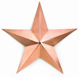 Large Copper Star - Polished Copper by Good Directions