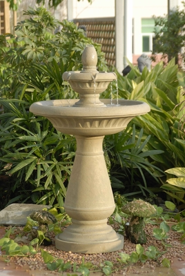 Large Jug Cascading Outdoor/Indoor Polyresin Water Fountain Brand Zest