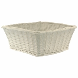 Large Willow Basket - White by Redmon