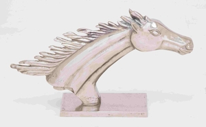Larissa Captivating Magnificent Horse Head Artwork Brand Benzara