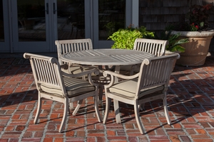 Larvik Patio Dining Set, Classy And Captivating Outdoor Home Decor by Well Travel Living