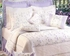 Lavender Trellis  Quilt Luxury Os King  Bedding Ensembles Brand C&F