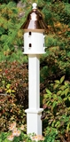 Lazy Hill Farm Designs Boxford White Vinyl Post by Lazy Hill Farm Designs