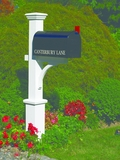 Lazy Hill Farm Designs Canterbury Mailbox Post by Lazy Hill Farm Designs