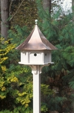 Lazy Hill Farm Designs Carousel Bird House with Polished Copper Roof by Lazy Hill Farm Designs