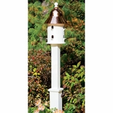 Lazy Hill Farm Designs Dove Post White Vinyl Square by Lazy Hill Farm Designs
