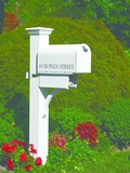 Lazy Hill Farm Designs Duplex Mailbox Post by Lazy Hill Farm Designs