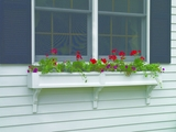 "Lazy Hill Farm Designs Federal Window Box - 48"" (2 Brackets) by Lazy Hill Farm Designs"