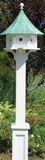 Lazy Hill Farm Designs Hammersley White Vinyl Post by Lazy Hill Farm Designs