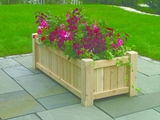Lazy Hill Farm Designs Large Rectangular Planter - Natural by Lazy Hill Farm Designs