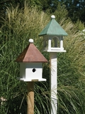 Lazy Hill Farm Designs Mini Bird House with Polished Copper Roof by Lazy Hill Farm Designs