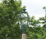 Lazy Hill Farm Designs Old Colony Lantern - Verde Brass by Lazy Hill Farm Designs