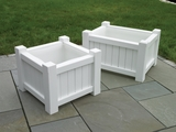 Lazy Hill Farm Designs Small Rectangular Planter - White by Lazy Hill Farm Designs