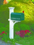 Lazy Hill Farm Designs Sovereign Mailbox Post by Lazy Hill Farm Designs