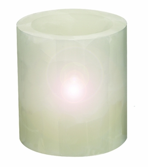 Led Flameless Vanilla Candle