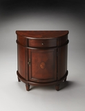"Lenore Plantation Cherry Demilune Chest 28""W by Butler Specialty"