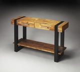 "Leopold Reclaimed Wood Console Table 48""W by Butler Specialty"