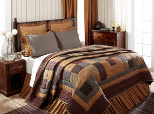 """Lewiston Standard Sham Ruffled Quilted 21"""" x 27"""" by VHC Brands"""