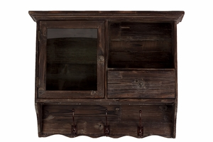 Lexington's Multiple Sectioned Fancy Wooden Cabinet