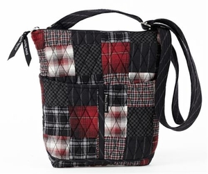 Lexington Style Backpack - Quilted Hipster Purse By Bella Taylor Brand VHC
