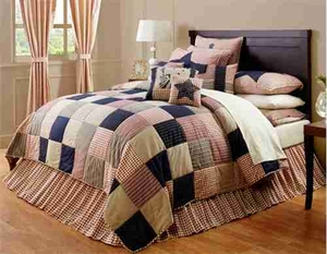 Liberty Patchwork Luxury Oversize King Quilt,  Handmade Quilt, 120x105 Brand VHC
