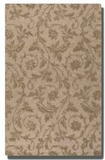 Licata Desert Sand 5' Wool Rug with Raised Vine Detail Brand Uttermost