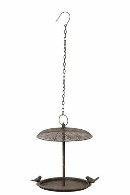 Light and Beautiful Metal Bird Feeder by Urban Trends Collection