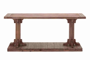 Light Brown Shade Classy Wooden Console Table Brand Benzara