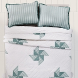 Lighthouse Point Twin Quilt 86x68 - 25686 by VHC Brands