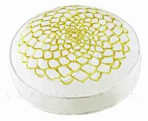 Lilly Embroidered Round Pillow 16 Inches Brand C&F