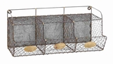 Livorno Wall Rack Practical And Ornamental Home D�cor Brand Benzara