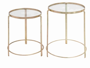 London Long-lasting Remarkable Nesting Table Set Brand Benzara