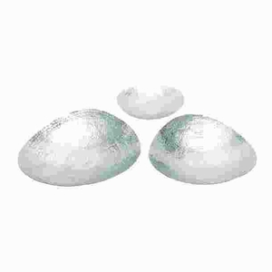 Long Lasting and Durable Aluminum in Silver Color Bowl (Set of 3) Brand Woodland