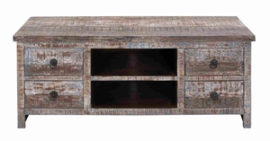 Long Lasting and Wooden Media Stand Providing New Elegance Brand Woodland