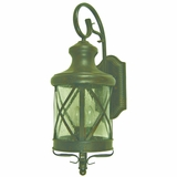 Lorenza Collection Charming 4 Lights Large Size Exterior Lights in Oil Rubbed Bronze by Yosemite Home Decor