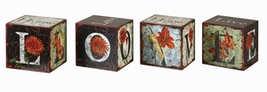 Love Live Home and Hope Box Set With Colorful Artwork Brand Uttermost