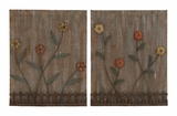Lovely and Attractive Assorted Set of 2 Wall Decor by Woodland Import