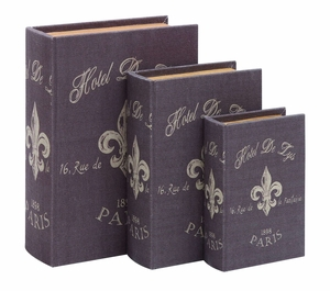 Lovely And Clever Paris Hotel Themed Book Box Set Brand Woodland