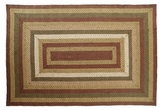 Lovely and Soft Tea Cabin Jute Rug Rect by VHC Brands