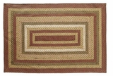 Lovely Browns Tea Cabin Jute Rug Rect by VHC Brands