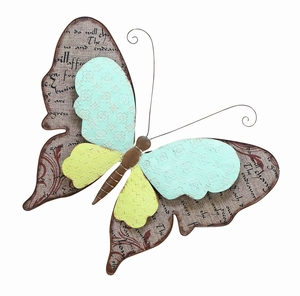 Lovely Butterfly Decor With Metallic Scrapbook Pattern Brand Woodland
