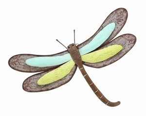 Lovely Dragonfly Decor With Metallic Scrapbook Pattern Brand Woodland