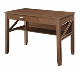 Lovely Piece of Multipurpose Wooden Landon Writing Table by Office Star