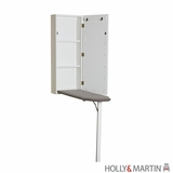 Lovely Wall Mount Ironing Centre by Southern Enterprises