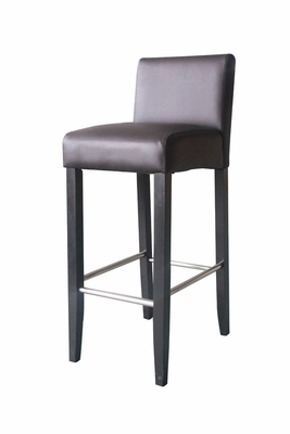 Low Back Barstool with Elegant Smooth Design by 4D Concepts
