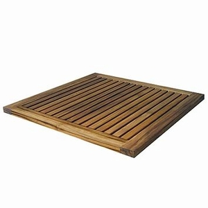 Luxurious Le spa Teak Floor Mat by Infinita
