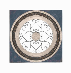 Lyon Wall Plaque Elaborate Design Delightful Home D�cor Brand Benzara