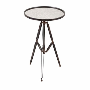 Maddox Mirror Accent Table