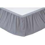 Maddox Twin Bed Skirt 39x76x16 - 19945 by VHC Brands